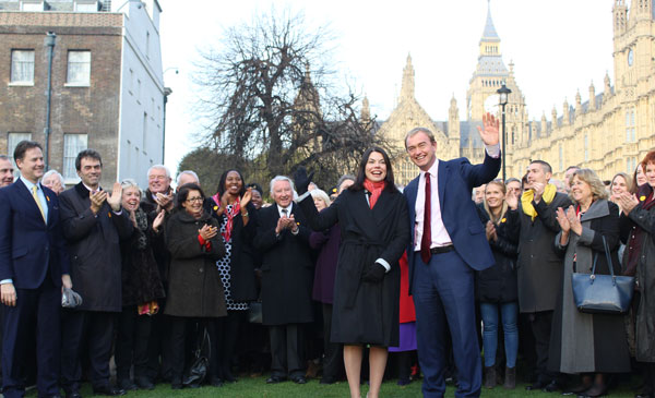 Sarah Olney at Westminster