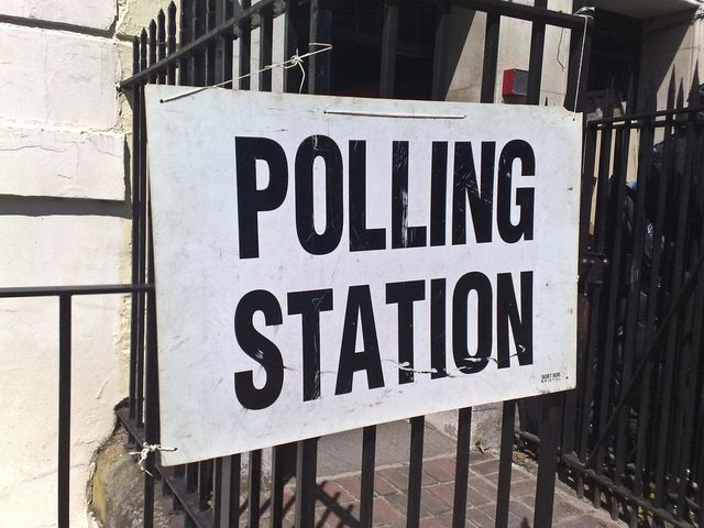 polling-station-sign