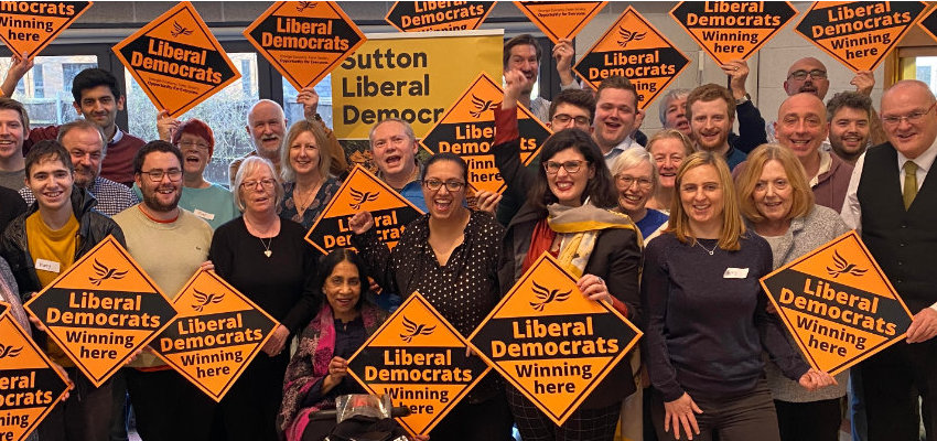 Sutton Liberal Democrat councillors