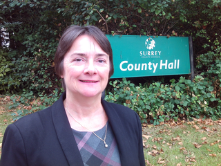 cllr-hazel-watson-outside-county-hall