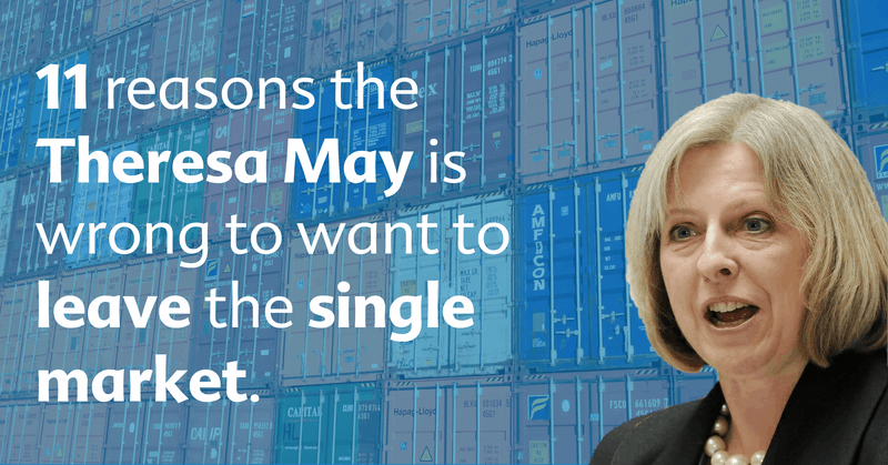 theresa may is wrong to leave single market